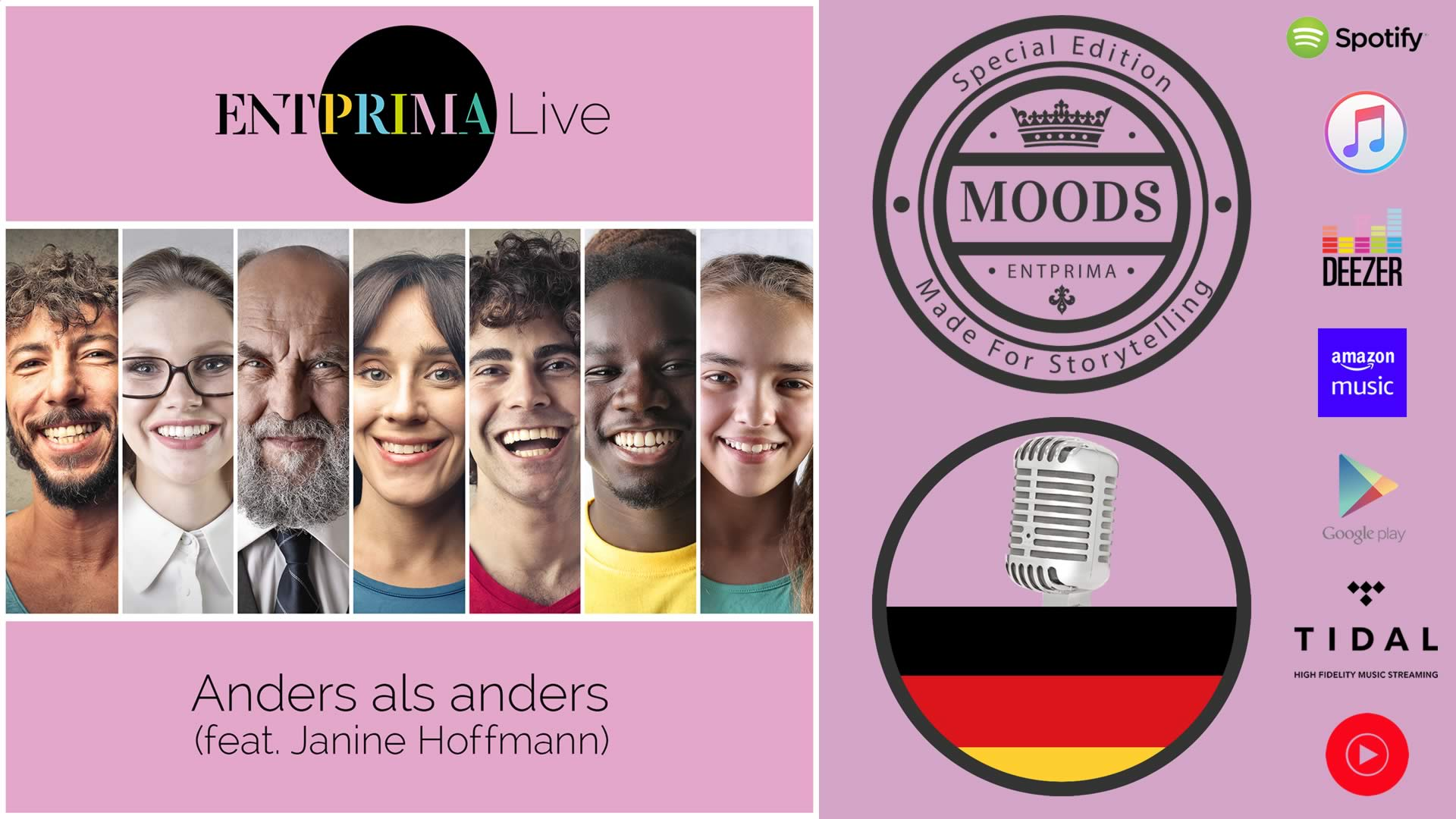 Entprima Live - Anders Als Anders