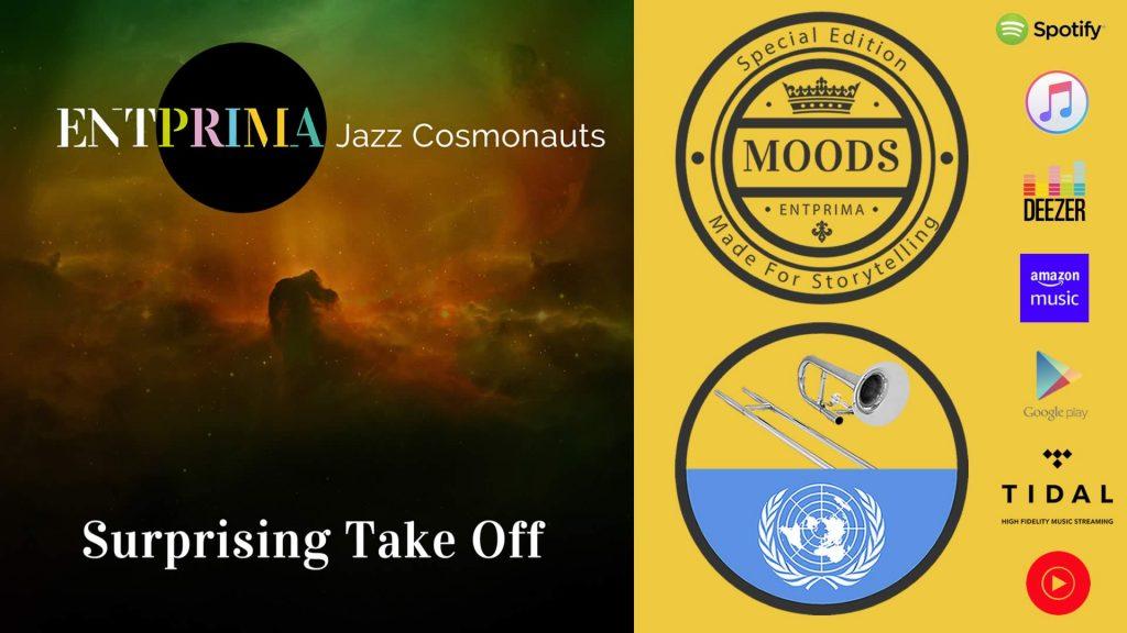 Entprima Jazz Cosmonauts - Surprising Take Off