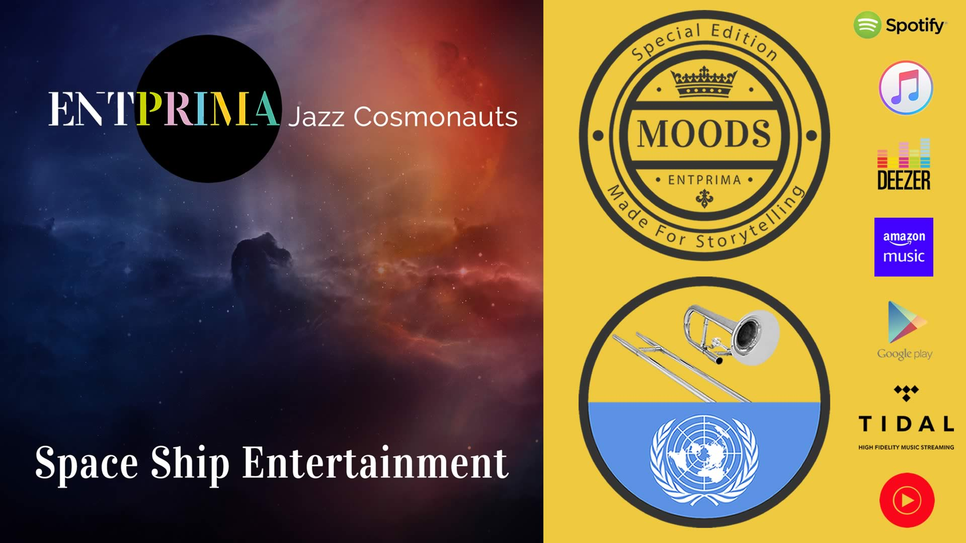 Entprima Jazz Cosmonauts - Space Ship Entertainment