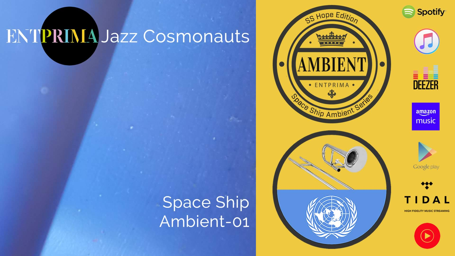 Space Ship Ambient-01 - Entprima Jazz Cosmonauts