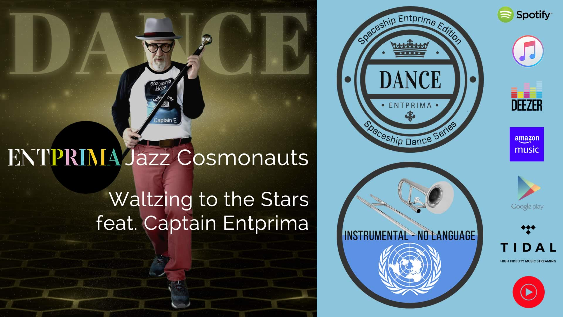 Waltzing to the Stars - Entprima Jazz Cosmonauts