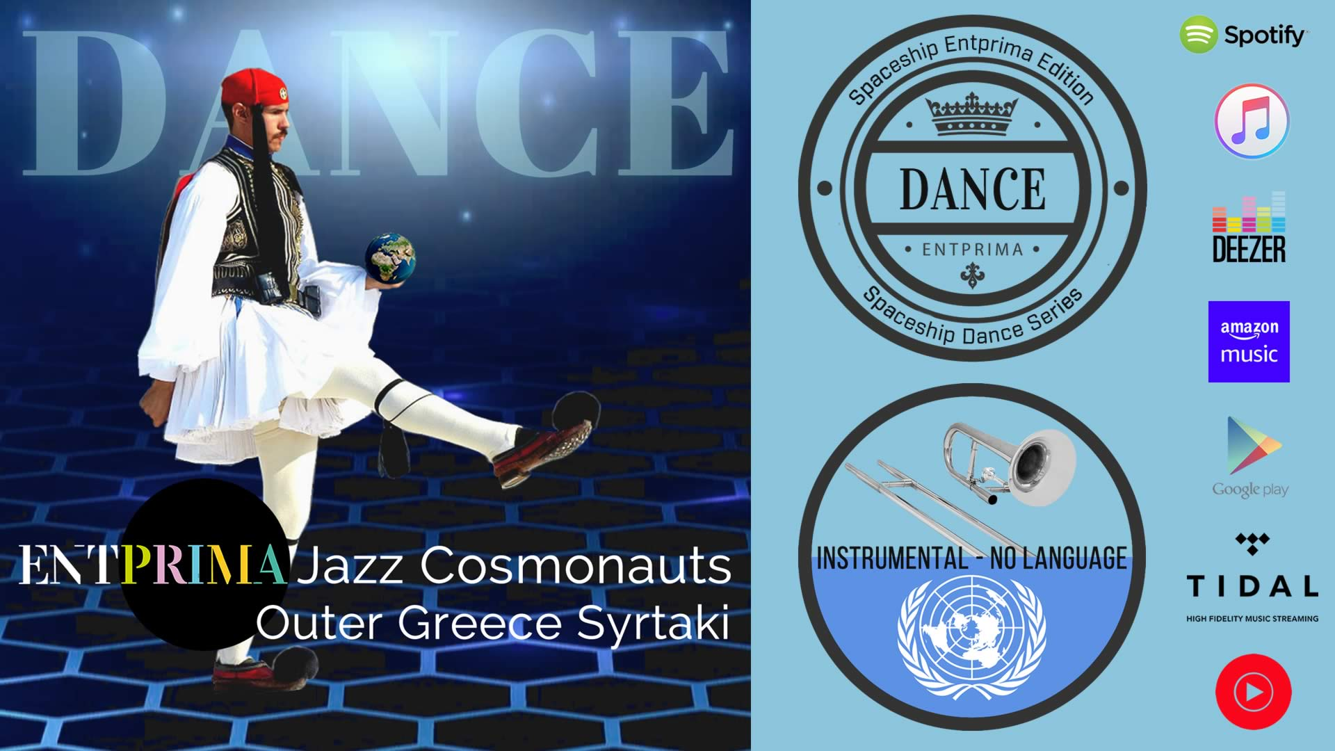 Äußeres Griechenland Syrtaki - Entprima Jazz-Kosmonauten