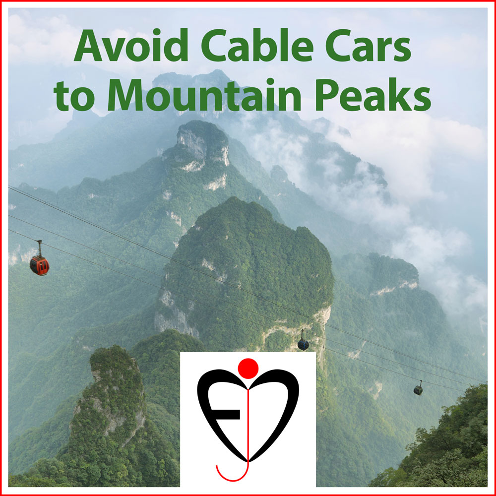 Avoid Cable Cars to Mountain Peaks - Entprima Jazz Cosmonauts